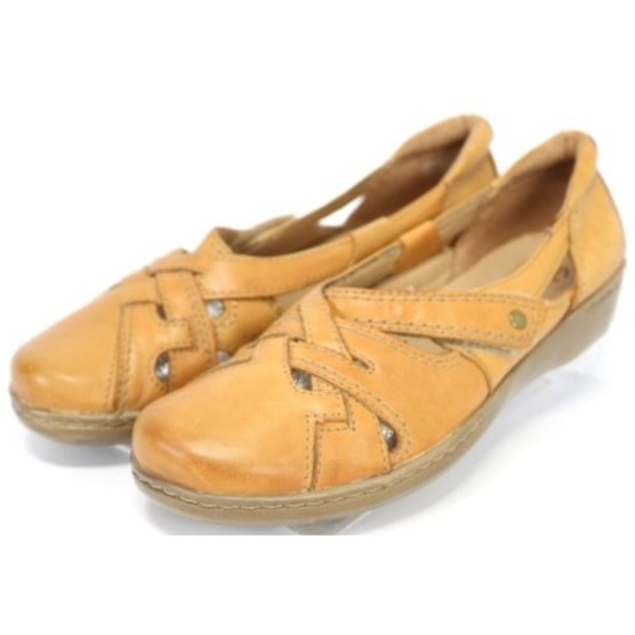 Clarks Collection Evianna Peal Women's Flats Sz 9